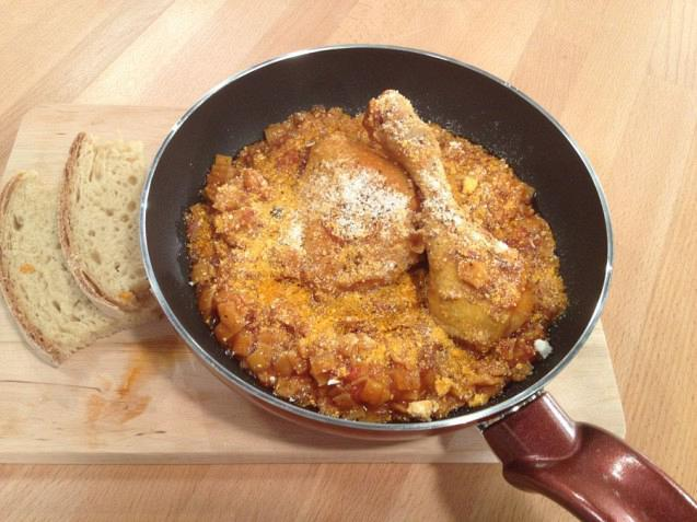 Κοτόπουλο Με Χυλοπιτάκι Και Μυζήθρα